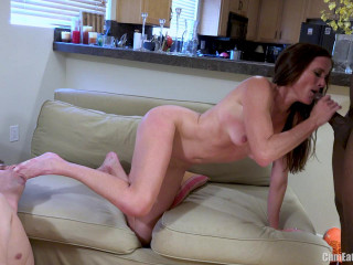 sofie marie black cock stretching