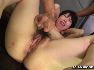 Asiansbondage - Aug 10, 2016 - Super-cute Asian gal An Orie in a torrid three way