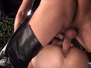 HairyAndRaw Ethan Palmer with Victor Cody and Justin Case - Part 2
