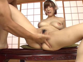 Work of a Big Tits Maid