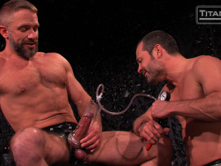 Pumped, Peed and Pounded: Scene 3: Dirk Caber & Will Swagger