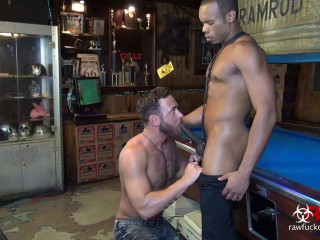 Logan Moore and the Huge Black Cock