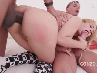 Natasha Teen balls deep Dap with 0% pussy (2018)