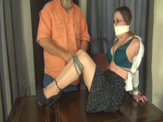 Bound And Gagged For Pleasure  Porn part 7
