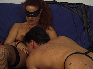 Fist-fucked dominatrix