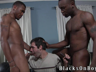 Caleb Bridges Loves Black Dicks