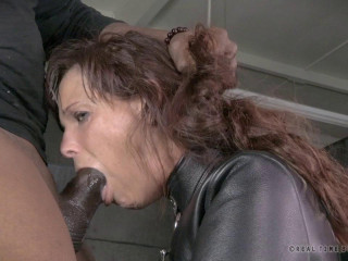 Violent Mummy Double penetration on Big black cock as Syren De Mer is straitjacket ravaged to total sexual destruction!