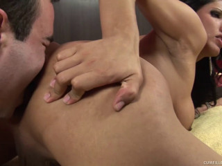 Tamarah Camargo - Tranny Princess Tamarah Fucked And Crammed With Jizm