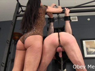 Obey Melanie - Spank your cum maker