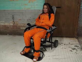 Gotcuffs - JJ arrested and put in chair part 4
