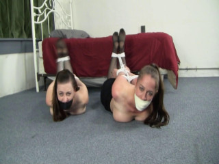 Pepper Serene Tightly Bound Executives Moved Around the Hideout