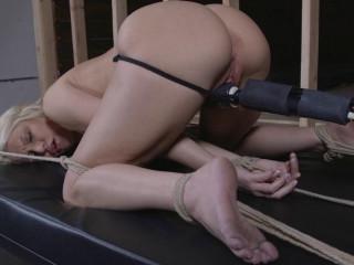 Doggie-style Restrain bondage Climaxes