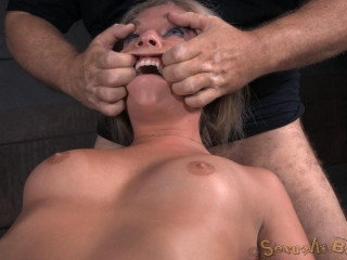 Sexy Blondie Madelyn Monroe - Brutish Deepthroat!(Aug 2015)