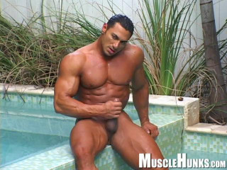 MuscleHunks - Rico Elbaz - Pool Meets Tool