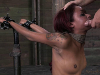 Sexual Superstar Skin Diamond gets throat drilled by Big Dick