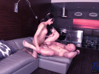 Fucking Her Man To End The Evening