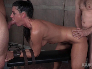 India Summer's Recorded Live feed from May: Brutal bondage