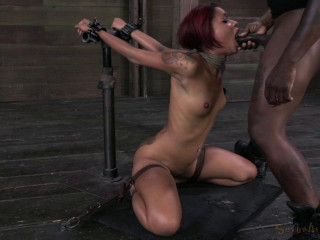 Sexual Superstar Skin Diamond Gets Throat Drilled By BBC - HD 720p