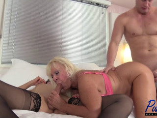 Kelli Lox, Mandi McGraw - Kelli & Christian introduce granny to a threesome