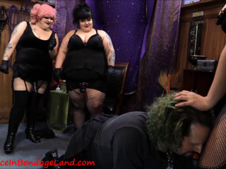Puppyboy Group Humiliation - FemDom Gangbang Training Pt 2