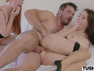 Incredible Threesome Fuck With Lana Rhoades & Penny Pax