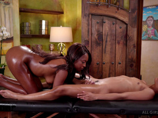 Kira Noir and Daya Knight - Yoni Training