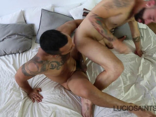 Angel Garcia and Lucio Saints