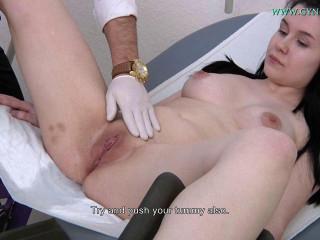 Suzie Angelina (22 years girl gyno exam)