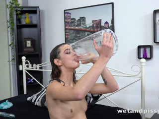 Tera Fasten in Pee Drenched Sheets