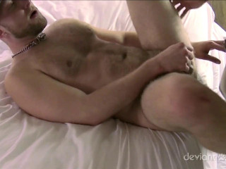 DeviantOtter - Muscle Pups' 1st 3some