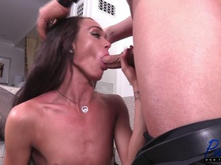 Sexy Shemale Amanda Bell Fucks With Christian