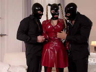 Mystery Masks - Latex Loving Threesome For Fetish Lovers - Latex Lucy