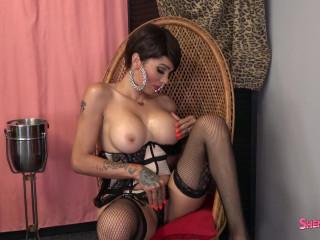 Ms. Revlon Strips For You