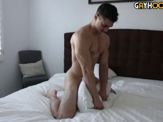 Peter Grom Jerks His Big Cock