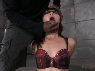 Japanese Marica Hase gets bound, spanked and downright wrecked by outstanding deepthoat on BBC!