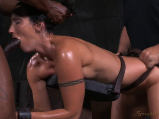 Fit Milf Wenona Belted In Strict Bondage - HD 720p