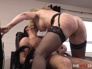 Nina Hartley fucks some sense into her personal assistant