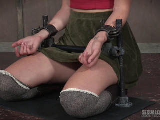 RTB - May 01, 2017 - Mona Wales Slats Part 1 - The sizzling up, strapped down in firm iron and face drilled