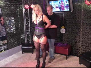 Supertightbondage - Dany Blonde in Predicament Bondage