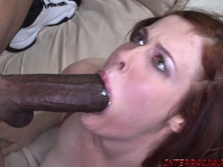 Redhead Girl Aches For Black Dick - Mae - Full HD 1080p