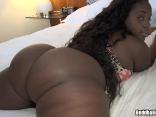 Big Black Juicy Booty Coco Banxxx destroyed by his boyfriend