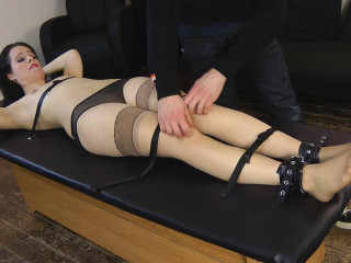 UKTickling - Tiffany Topless and Hysterical on the Bondage Table