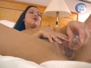 Kinky masturbations of a mega-slut