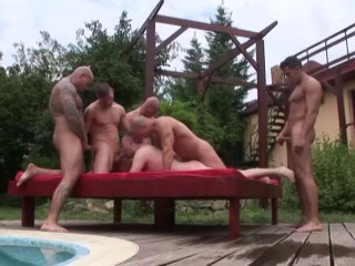 White Water Productions - Silver Fox Gangbang