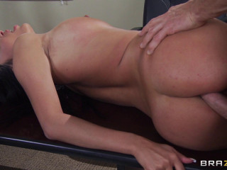 Stunning Big-titted Girl Needs More From Him And His Office