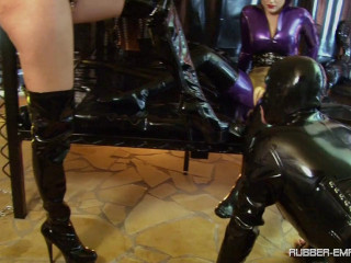 Lady Blackdiamoond & Bizarr Lady Alice - Condom Slut