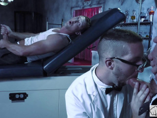 Dr. FrankenFuck's Fist Lab, Scene 03 Hugh Hunter, Scotty Taylor, Pierce Paris (2017)