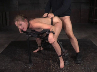 Stunning Mona Wales dicked down in tight restrain bondage gigantic spraying multiple orgasms! (2016)