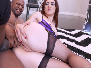 Mandy Muse Dp'd By Two Black Studs