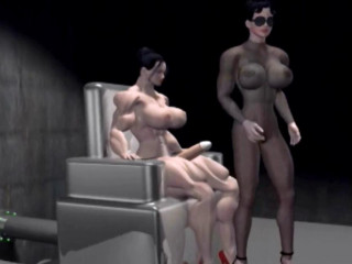 Three dimensional Shemuscle Futa Girls